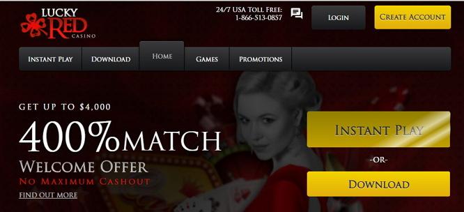 Bonus Code For Lucky Red Casino